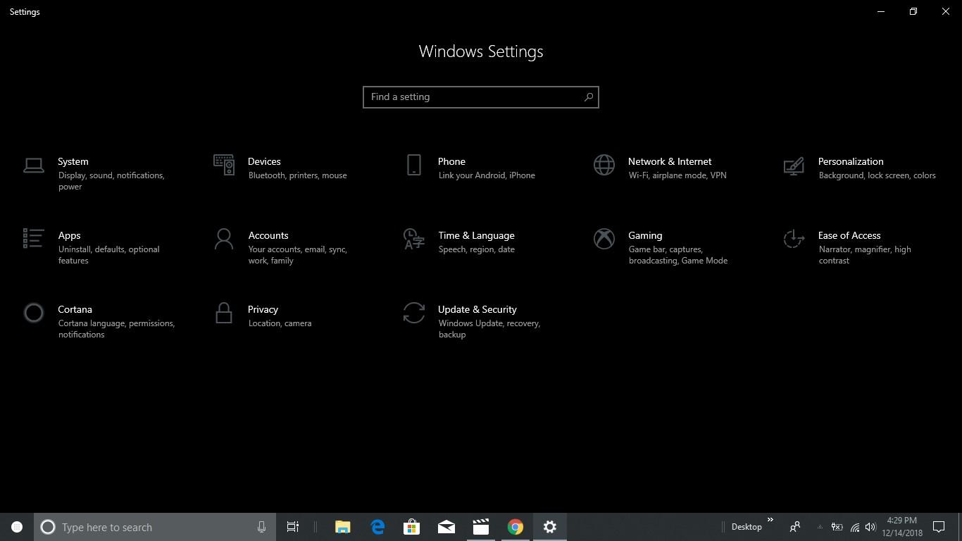 Dark mode windows explorer