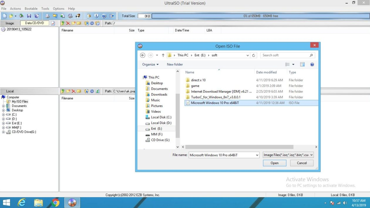 To usb iso
